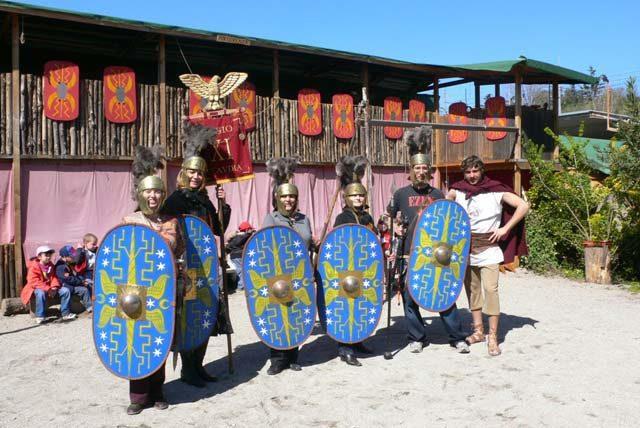 Ecole de gladiateurs Rome
