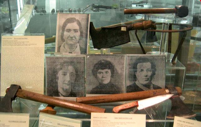 Museo Criminologico Musée du Crime Criminalité Rome