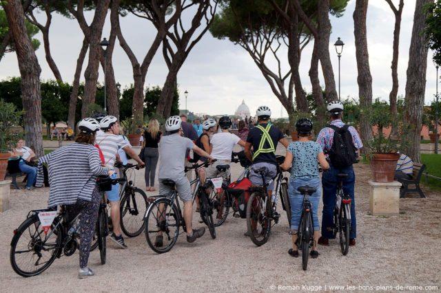 Rome en vélo