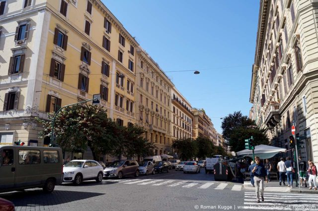 Via Cola di Renzo Rome Shopping