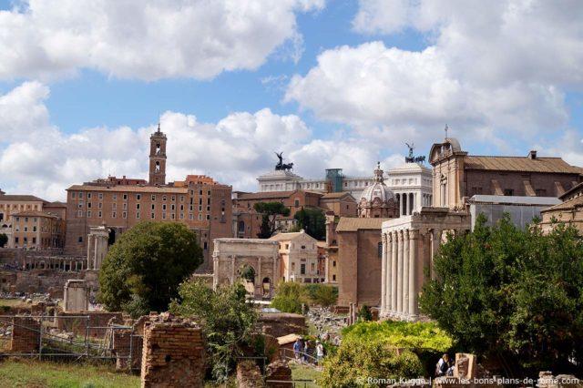 Forum Romain à Rome