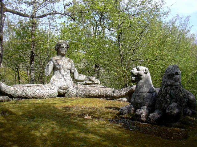 Jardins de Bomarzo Monstres