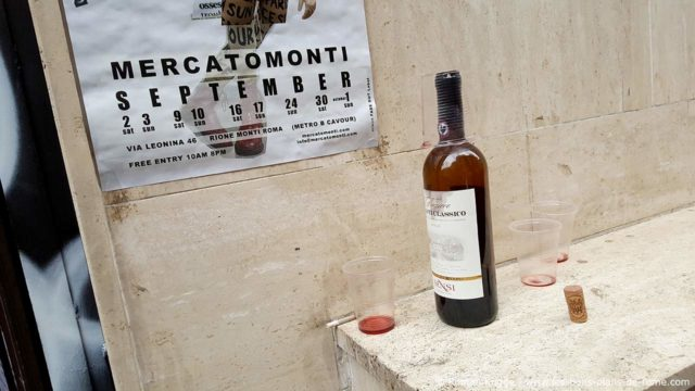 Mercato Monti à Rome, marché de jeunes créateurs