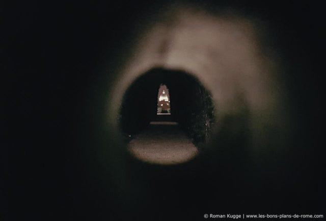 Trou de serrure Rome nuit