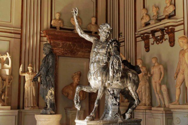 Le minotaure Centaure dans les Musées du Capitole à Rome