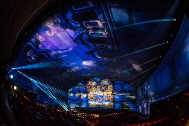 Spectacle Jugement Dernier Michel-Ange Chapelle Sixtine
