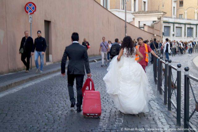 Audiences du pape jeunes mariés