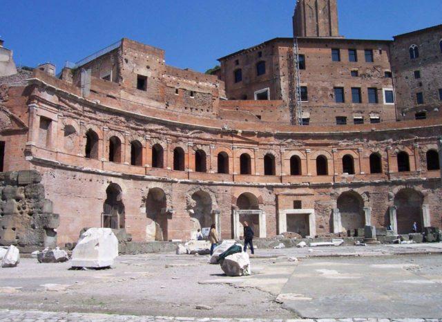 Marchés de Trajan Rome