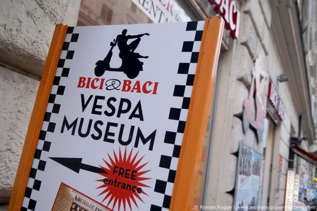Musée de la Vespa à Rome