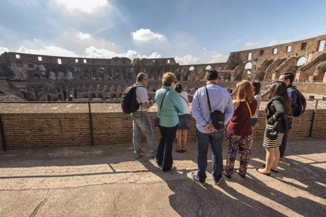 Visite guidée du Colisée
