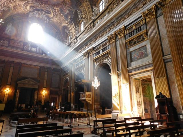 Chiesa il Gesu Église Rome