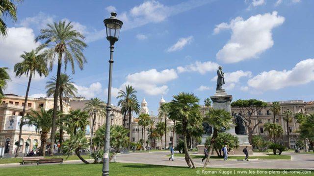 La place Piazza Cavour à Rome