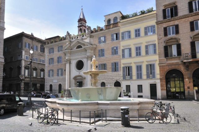 Piazza Farnese Rome
