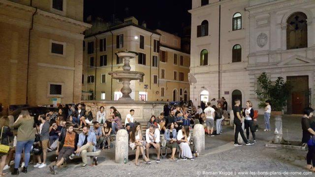 Piazza della Madonna dei Monti Rome