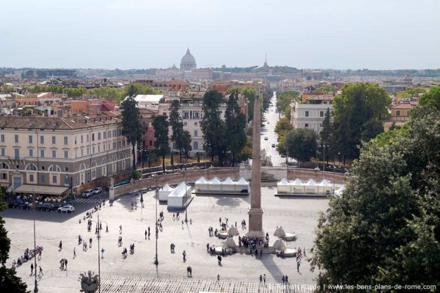 Place Piazza del Popolo à Rome